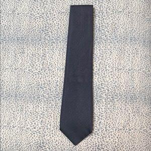 Giorgio Armani navy tie- excellent condition